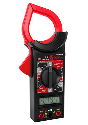 Picture of EM266, (DT266) ETL marking DIGITAL CLAMP METER