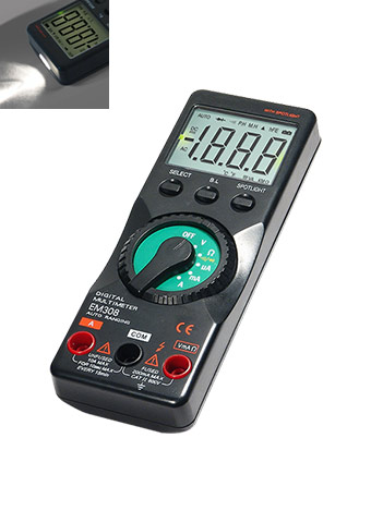 Picture of EM308, DIGITAL MULTIMETER