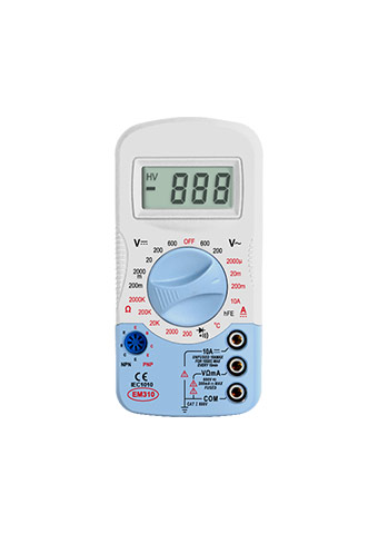 Picture of EM310, EM310 SERIES mini DIGITAL MULTIMETER