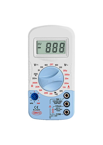 Picture of EM312, EM310 SERIES mini DIGITAL MULTIMETER