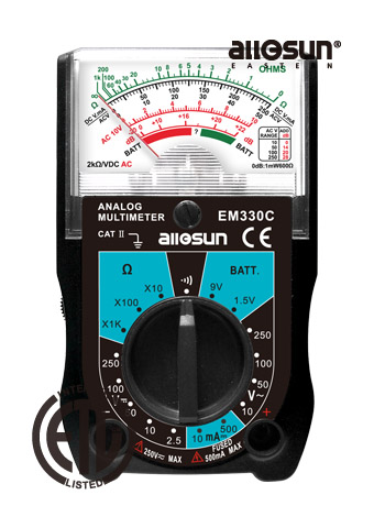 Picture of EM330C, ETL marking, ANALOG MULTIMETER