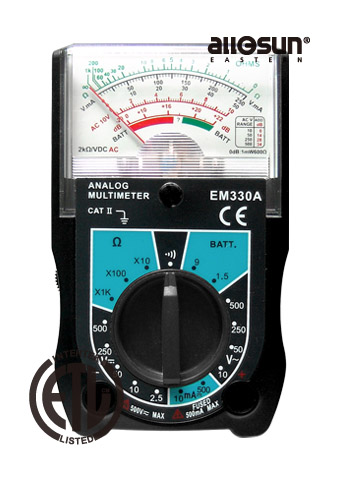 Picture of EM330, ANALOG MULTIMETER