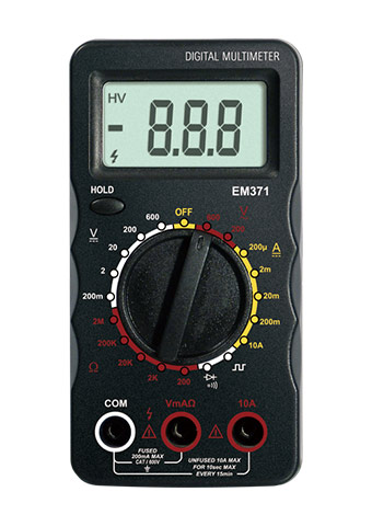 Picture of EM371, Digital Multimeter  EM370 Series