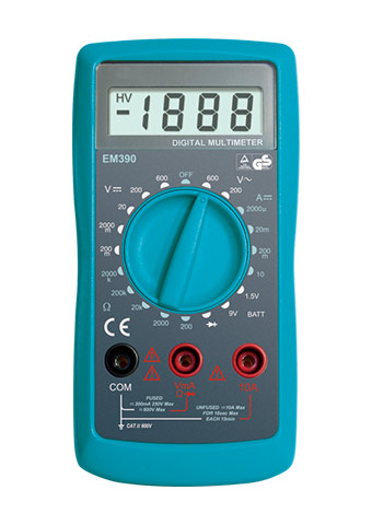 Picture of EM390, GS/CE marking 3 1/2 DIGITAL MULTIMETER