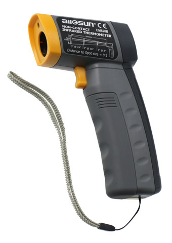 Picture of EM520B, Infrared Thermometer, 520°C Gun Type IR