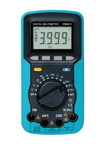 Picture of EM5513, ETL marking DIGITAL MULTIMETER