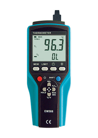 Picture of EM588A, PORTABLE THERMOMETER