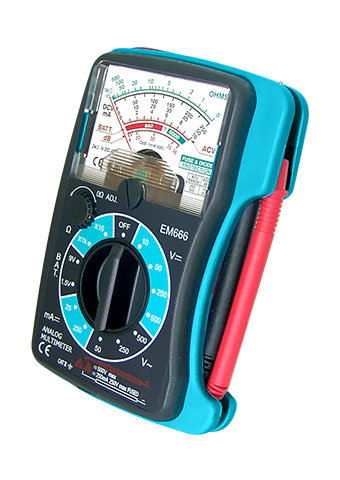 Picture of EM666, ANALOG MULTIMETER