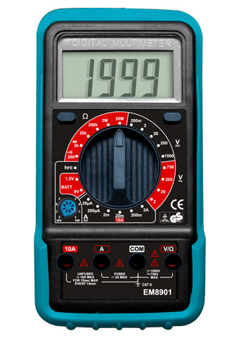 Picture of EM8900, GS marking DIGITAL MULTIMETER